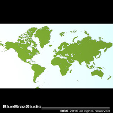 World 3D Model