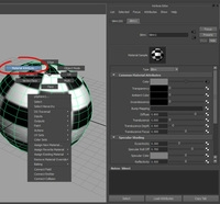 Free Material Attribute in Right Click Marking Menu for Maya 1.0.0 (maya script)