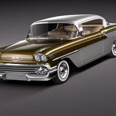 Chevrolet Bel Air 1958 3D Model