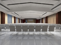 Conference Spaces 076 3D Model