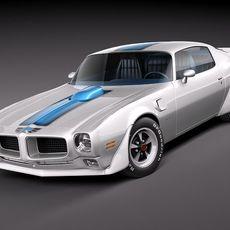 Pontiac Firebird Trans Am 1970-73 3D Model