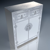 Chinese Cabinet (Basic) 3D Model