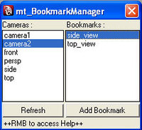 Free mt_BookmarkManager for Maya 1.0.0 (maya script)