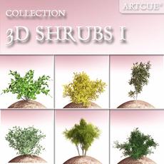 SHRUBS COLLECTION 01 3D Model