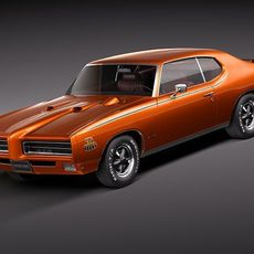 Pontiac GTO 1969 THE JUDGE 3D Model