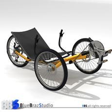 Terra Trike 3D Model