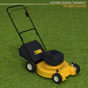 Lawnmower 3D Model