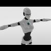 Robot woman 3D Model