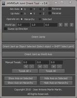Maya - Joint Orient Tool 1.1.0 for Maya (maya script)