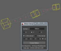 Ribbon for 2011 for Maya 1.0.0 (maya script)