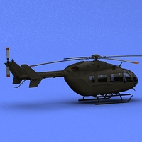 UH-72 Lakota  3D Model