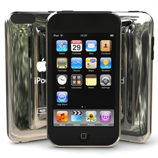 g2 iPod Touch 3D Model