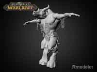 Tauren Shaman 3D Model