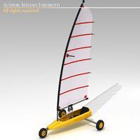 Land yacht 3D Model