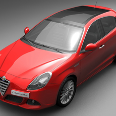 2011 Alfa Romeo Giulietta 3D Model