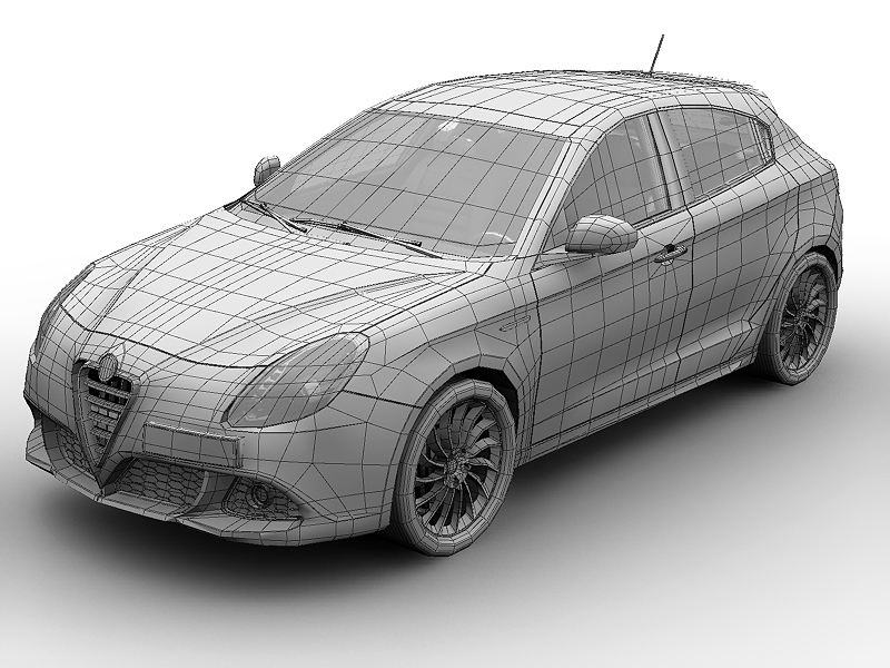 Alfa romeo giulietta technical specifications