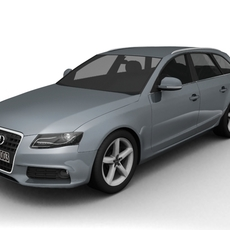 2008 Audi A4 Avant 3D Model