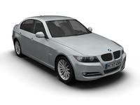 2008 BMW 3 Series 3D Model
