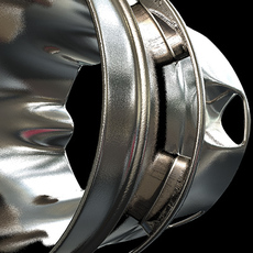 Rocket nozzle, supressor. 3D Model