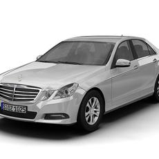 2010 Mercedes Benz E-Class 3D Model