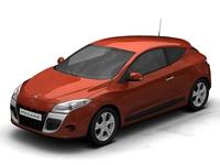 2009 Renault Megane Coupe 3D Model