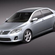 Toyota Corolla 2010 3D Model