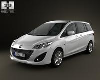 Mazda 5 2011 3D Model