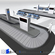 Airport baggage carousel 3D Model