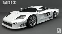 Saleen S7 3D Model
