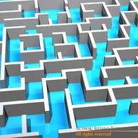 Labyrinth Maze 3D Model