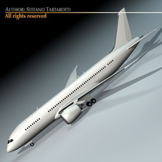 B 787 dreamliner 3D Model