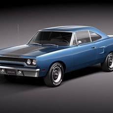 Plymouth Road Runner 1970 3D Model