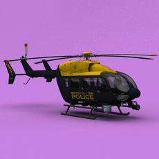 London Metropolitan Police EC-145 3D Model