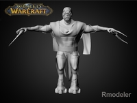 Earth Warior Hoen 3D Model