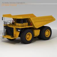 Mine dumper truck 3D Model