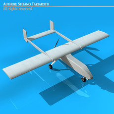 Pegasus UAV 3D Model