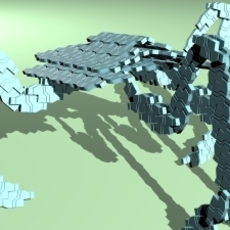 Replicator 3D Model