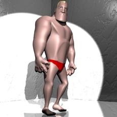 Mister muscle 3D 3D Model