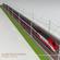 ETR500 Frecciarossa with main line 3D Model