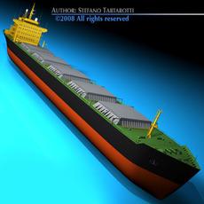 Cargo ship 3D Model