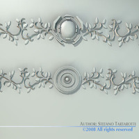 Stucco decorations 3D Model