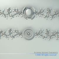 Stucco decorations 3D Model