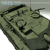 Ariete tank 3D Model