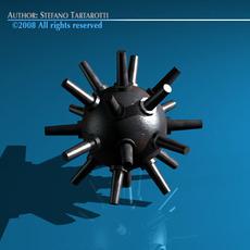 Submarine bomb 3D Model
