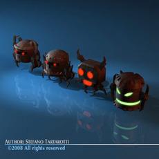 robot creatures 3D Model