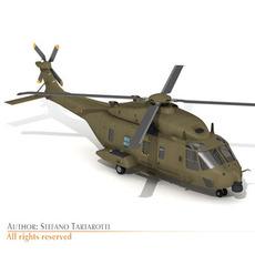 NH90 Italian army 3D Model