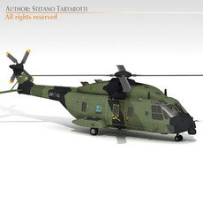 NH90 German army 3D Model