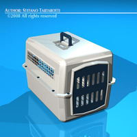 Pet cage 3D Model