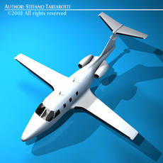 Eclipse jet 3D Model