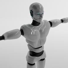 Robot man 3D Model